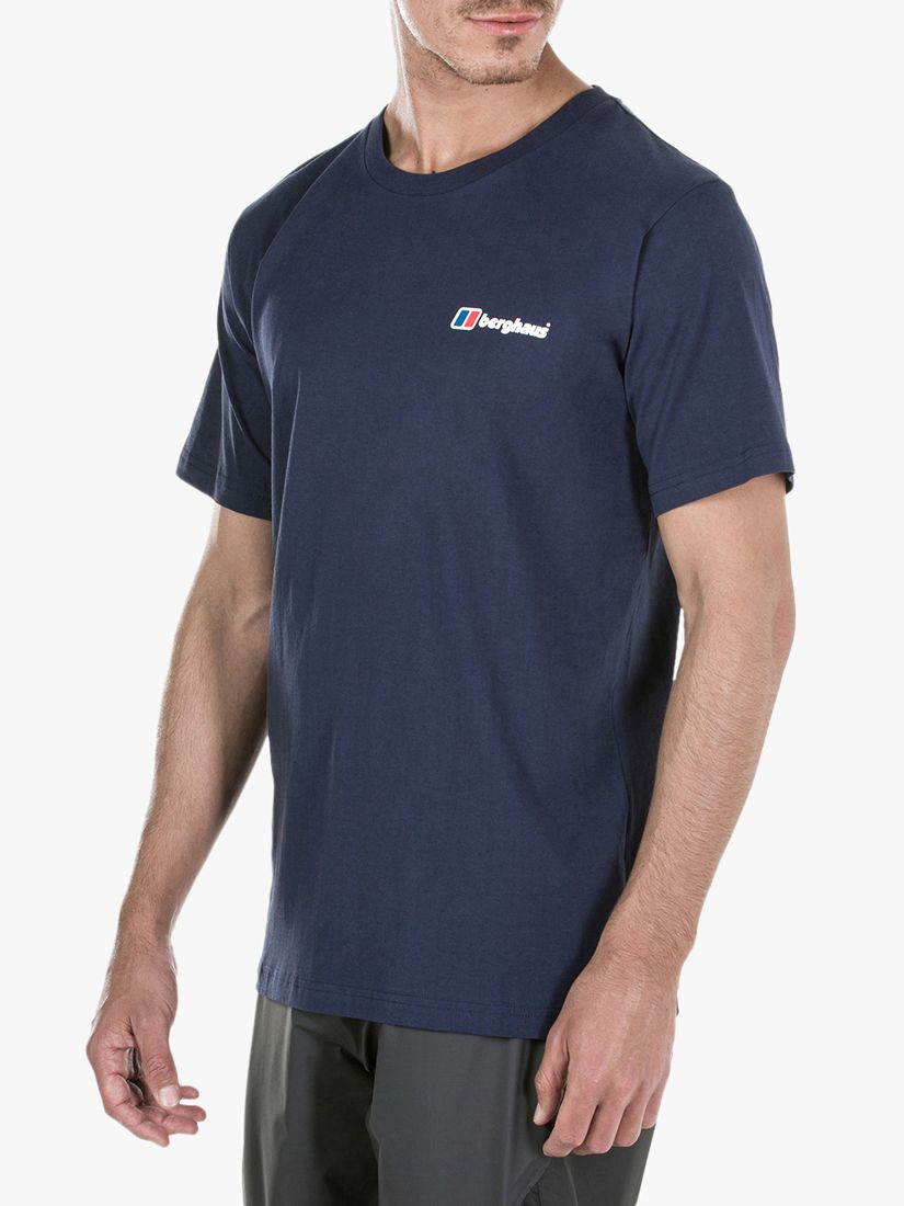 Berghaus Berghaus Corporate Logo T-Shirt, Dusk