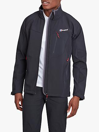 Berghaus Ghlas Men's Softshell Jacket, Black