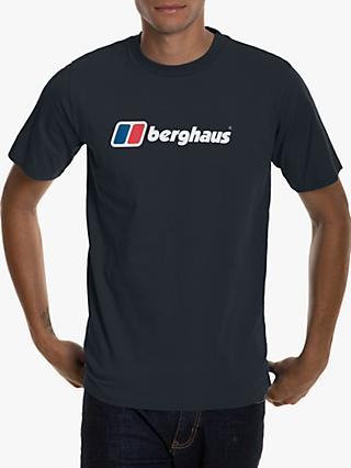 Berghaus Big Corporate Logo T-Shirt, Black