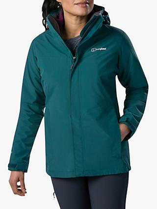 Berghaus Hillwalker Interactive Women's Waterproof Gore-Tex Jacket, Atlantic Deep