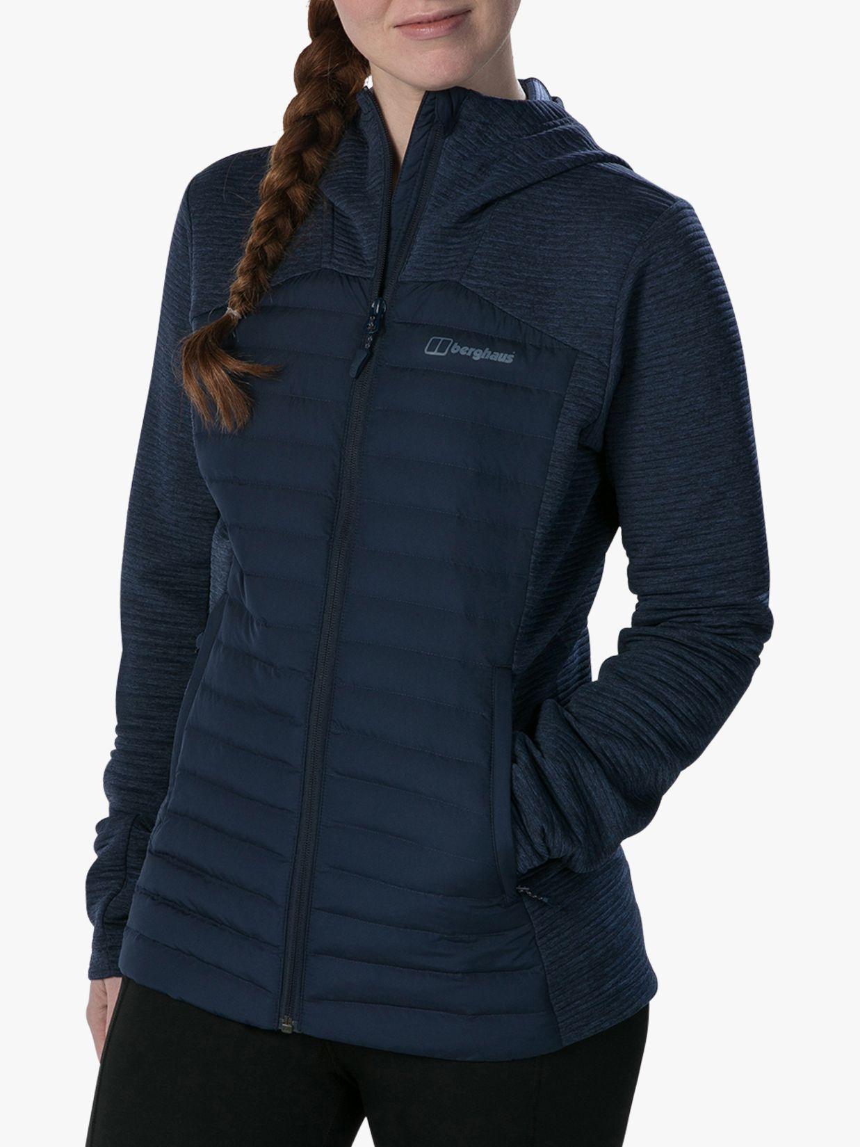 Berghaus Berghaus Nula Hybrid Women's Water Resistant Jacket, Dusk