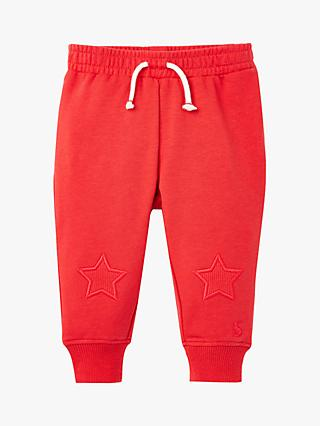 Baby Joules Star Joggers, Red