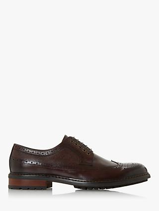Dune Blackouts Leather Cleated Brogues