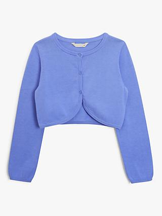 John Lewis & Partners Girls' Essential Shrug
