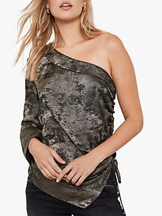 Mint Velvet One Shoulder Top