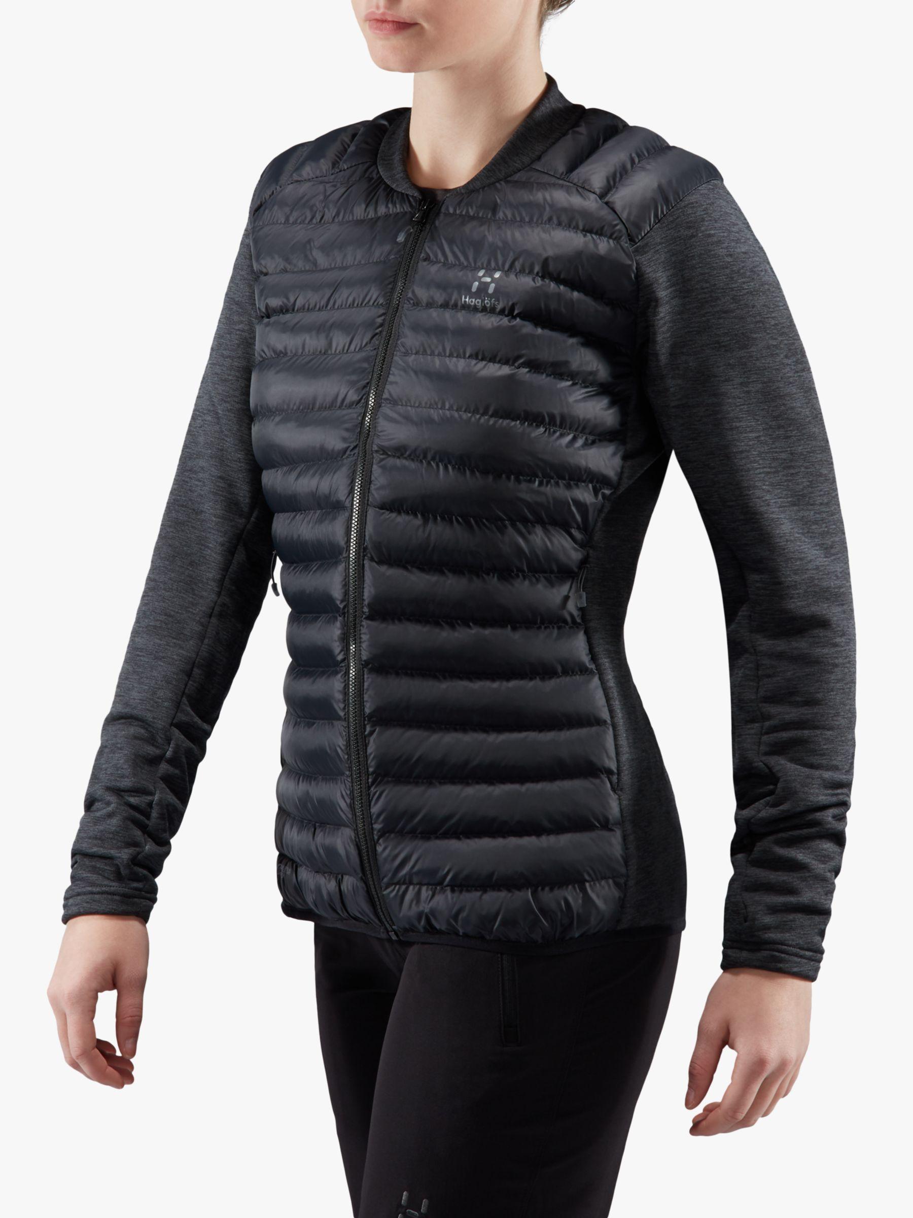 Haglofs Haglöfs Mimic Hybrid Women's Insulated Jacket, True Black/Magnetite