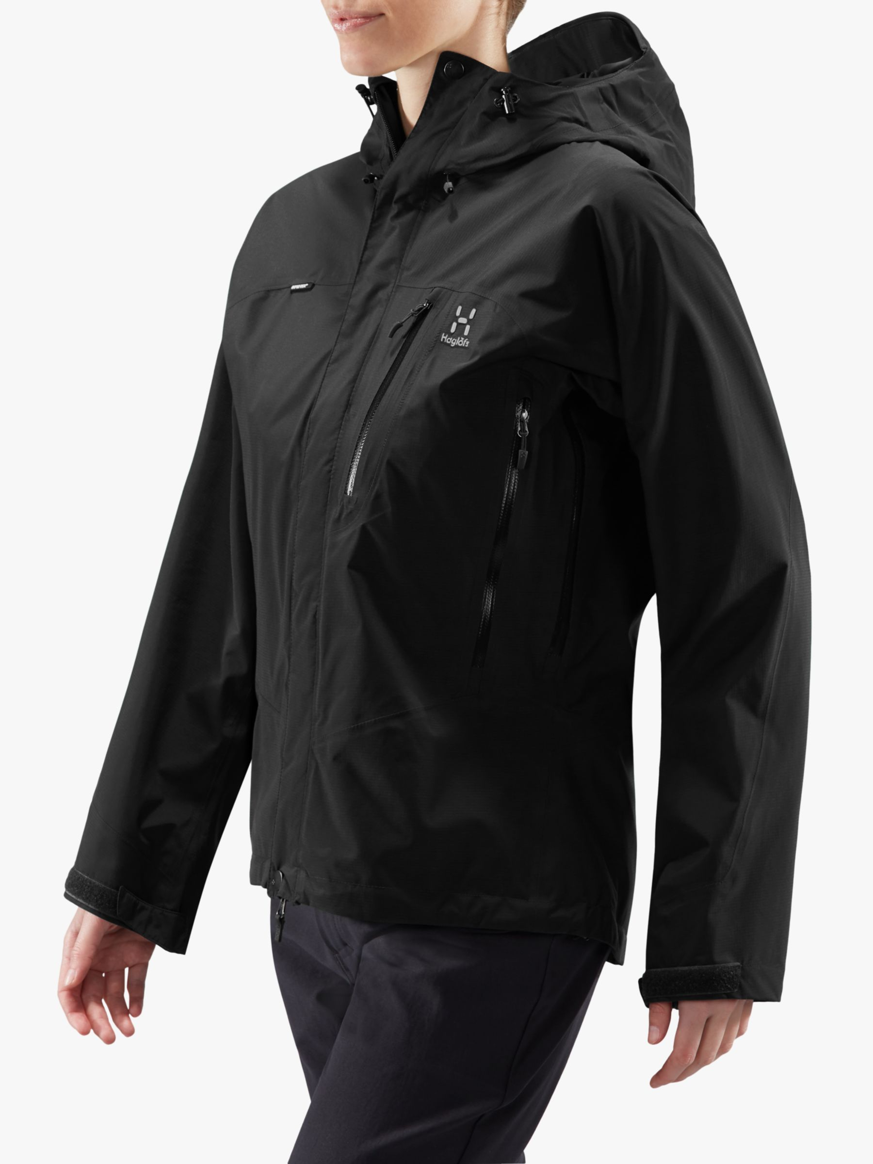 Haglofs Haglöfs Astral Women's Waterproof Gore-Tex Jacket, True Black