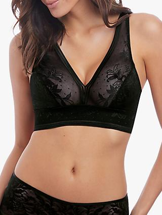 Wacoal Net Effects Bralette, Black