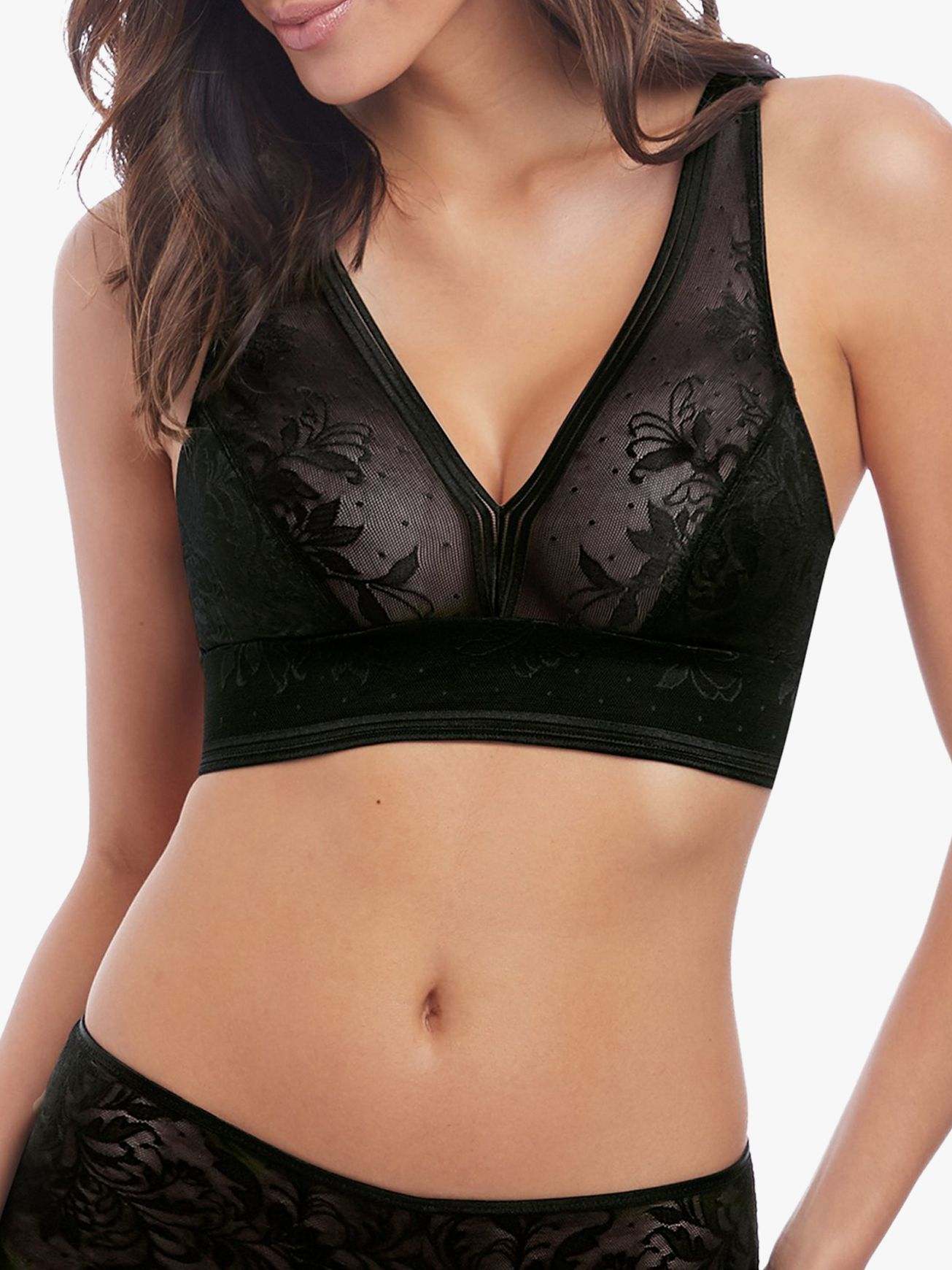 Wacoal Wacoal Net Effects Bralette, Black