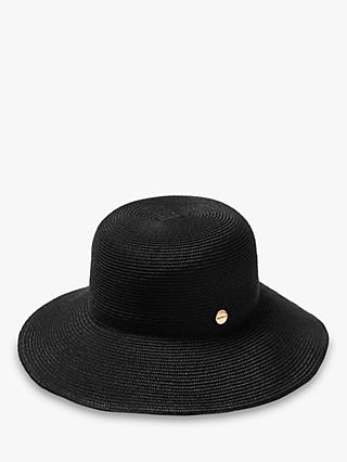 Seafolly Shady Lady Fedora Hat, Black