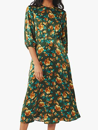Ghost Scarlett Midi Dress, Lola Floral