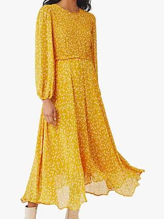 Ghost Margaux Midi Dress, Leslie Mini Leopard
