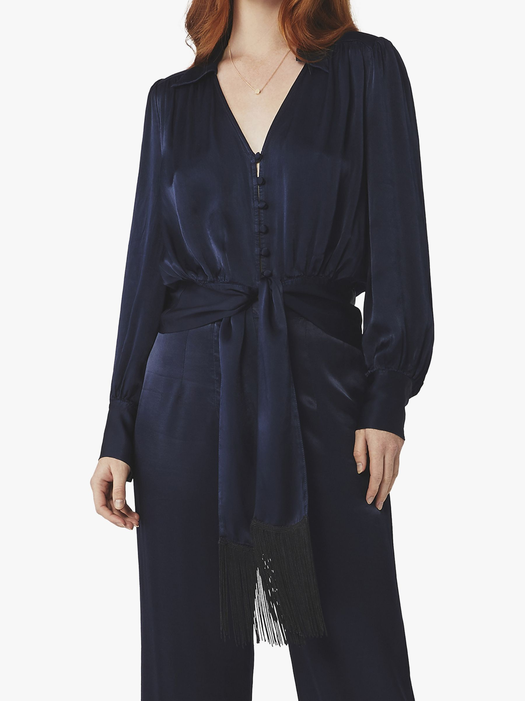 Ghost Ghost Carey Blouse, Navy
