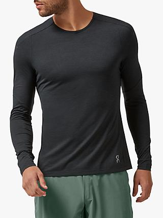 On Performance-T Long Sleeve Running Top, Black