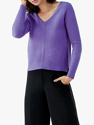 Pure Collection Gassato Cashmere Pointelle Sweater