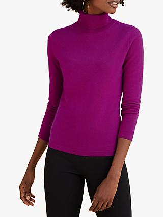 Pure Collection Roll Neck Cashmere Sweater