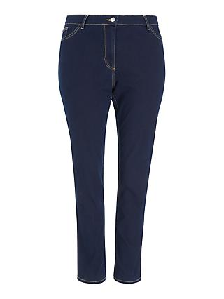 Persona by Marina Rinaldi Iconic Denim Jeggings, Navy Blue