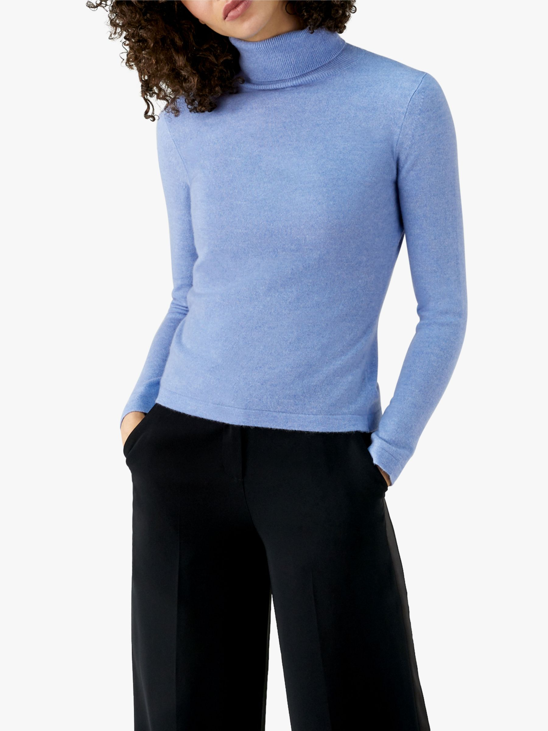 Pure Collection Pure Collection Roll Neck Cashmere Sweater