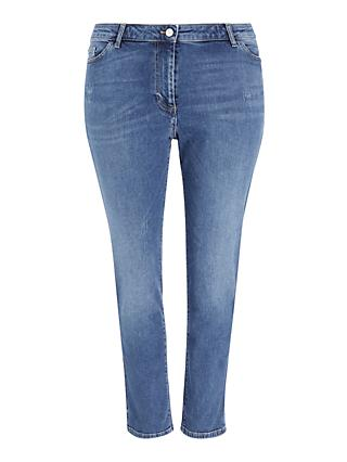 Persona by Marina Rinaldi Ilaria Denim Jeggings, Blue