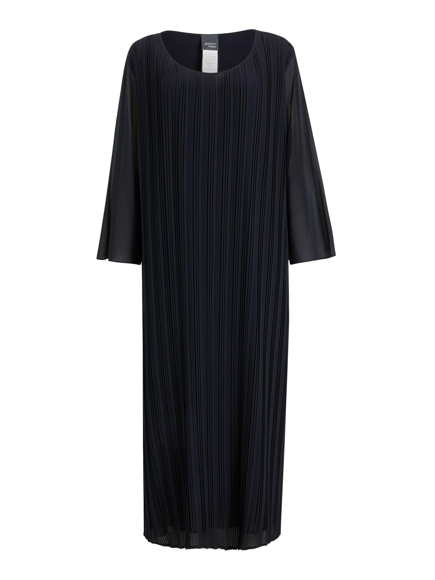 Persona by Marina Rinaldi Persona by Marina Rinaldi Dare Pleated Dress, Navy