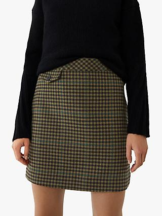 Warehouse Pocket Pelmet Skirt, Khaki