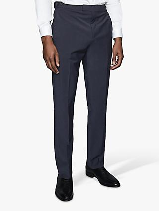 Reiss Hope Modern Fit Travel Suit Trousers, Navy