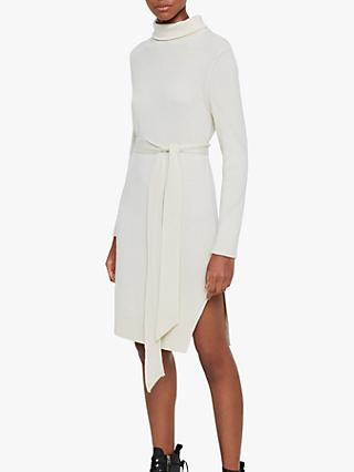 AllSaints Roza Merino Wool Blend Jumper Dress
