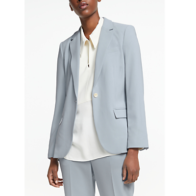 Theory Staple Blazer, Mist Blue