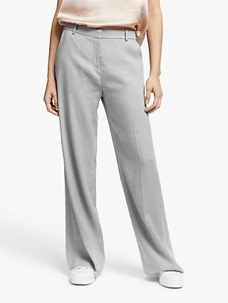 Modern Rarity Linen Blend Trousers, Grey