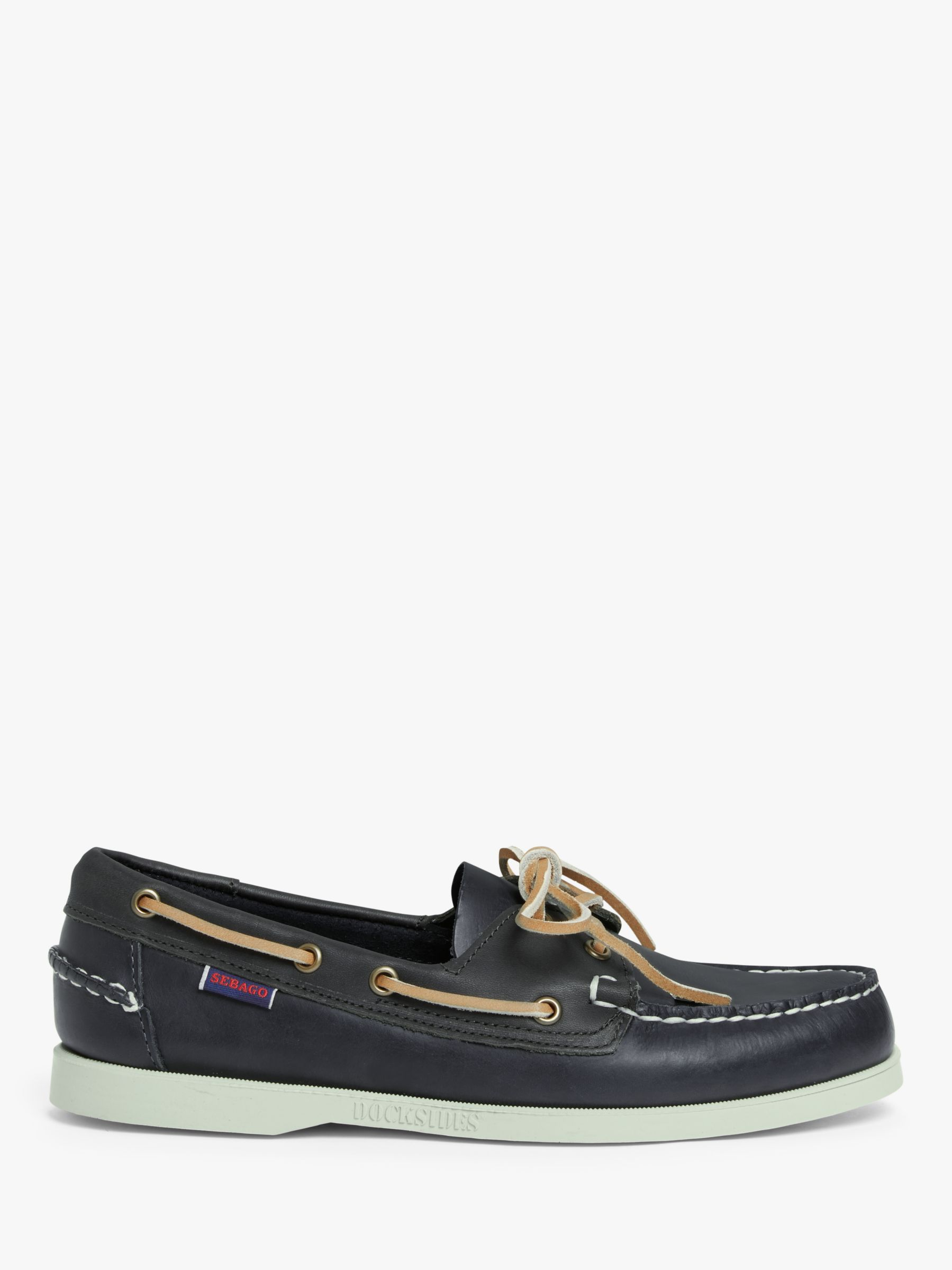Sebago Sebago Portland Dockside Leather Boat Shoes