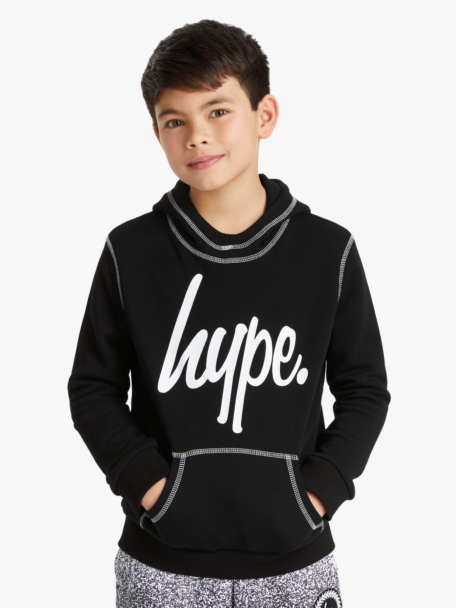 Hype Hype Boys' Stitch Hoodie, Blue