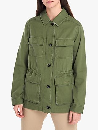 Barbour National Trust Ramsons Casual Jacket, Bayleaf