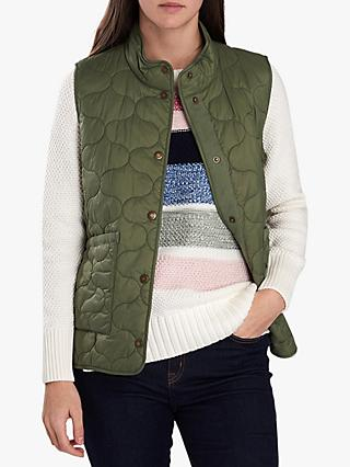 Barbour National Trust Honeysuckle Onion Quilted Gilet, Bayleaf