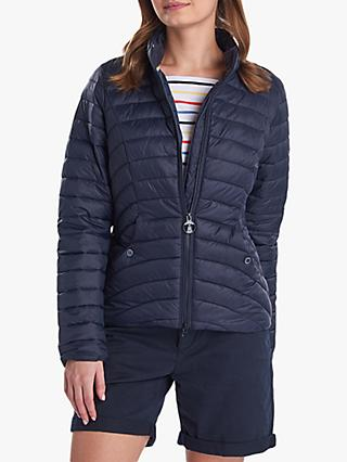 Barbour Shorewood Quilted Jacket, Navy