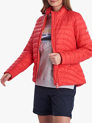 Barbour Shorewood Quilted Jacket, Coral