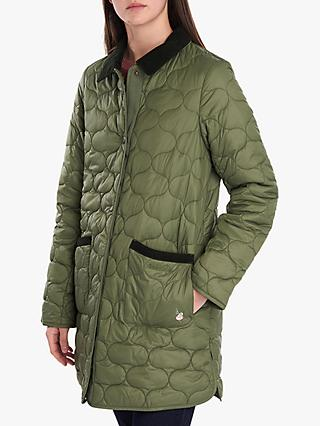 Barbour National Trust Lily Onion Quilted Jacket, Bayleaf