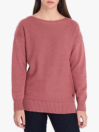 Barbour National Trust Daisy Jumper, Rustic Pink