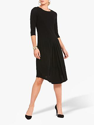 Helen McAlinden Front Pleat Dress, Black