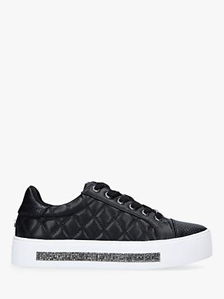Carvela Jeo Quilted Flatform Trainers