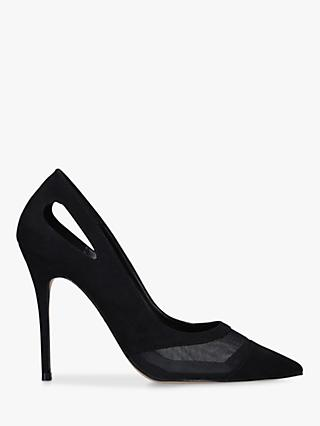 Carvela Luxx Stiletto Heel Court Shoes, Black