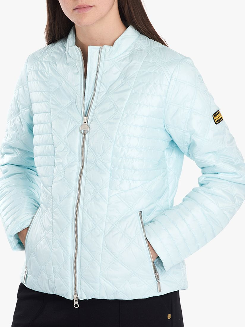 Barbour Barbour International Freethrow Quilted Jacket, Opal