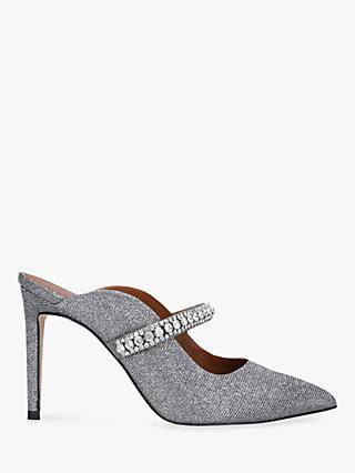 Kurt Geiger London Duke Embellished Court Shoes, Grey