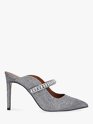 Kurt Geiger London Duke Embellished Court Shoes, Grey