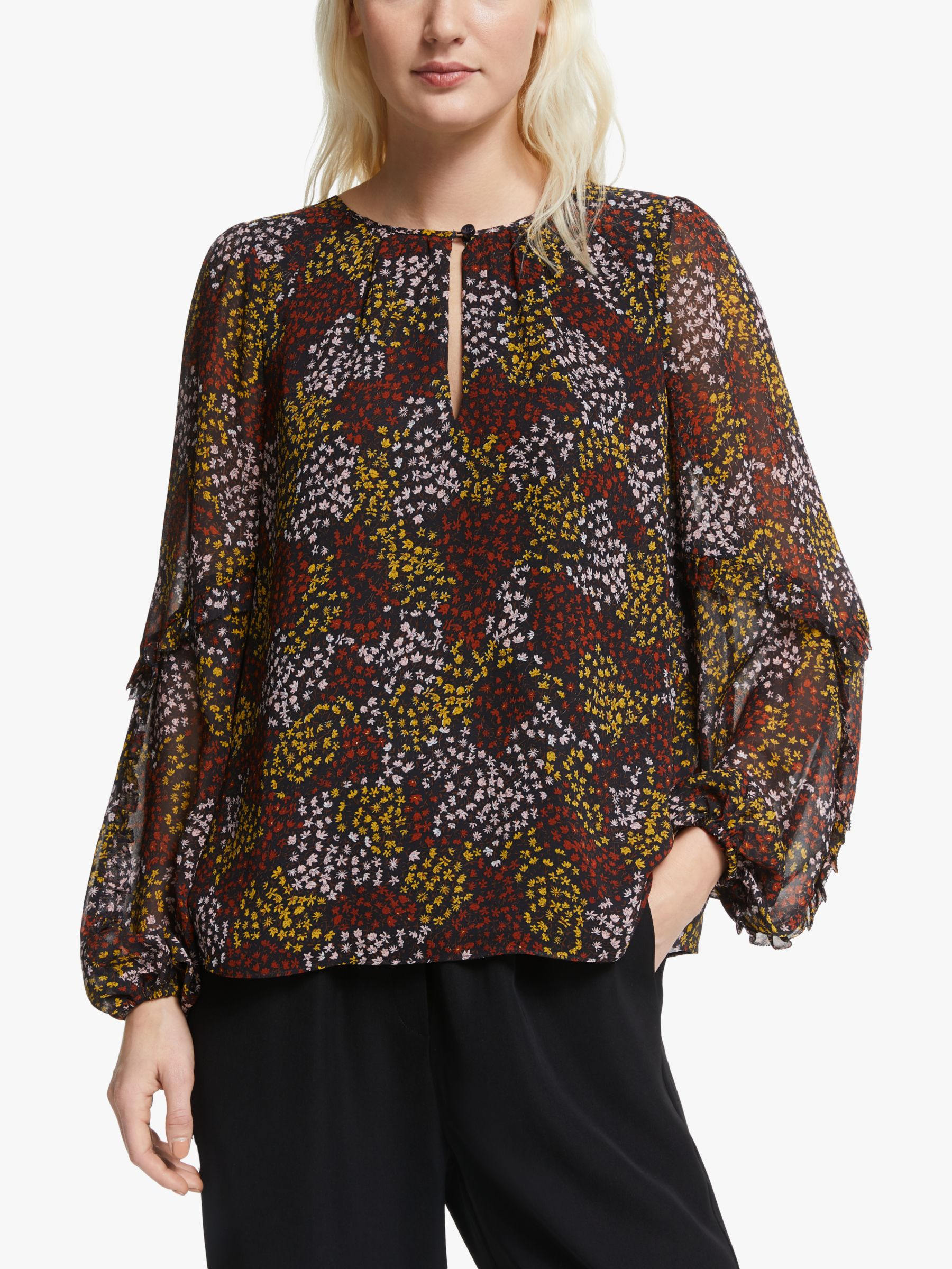 Joie Joie Baltasar Silk Top, Midnight