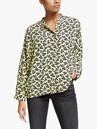 Y.A.S Lafera Printed Shirt, Yellow
