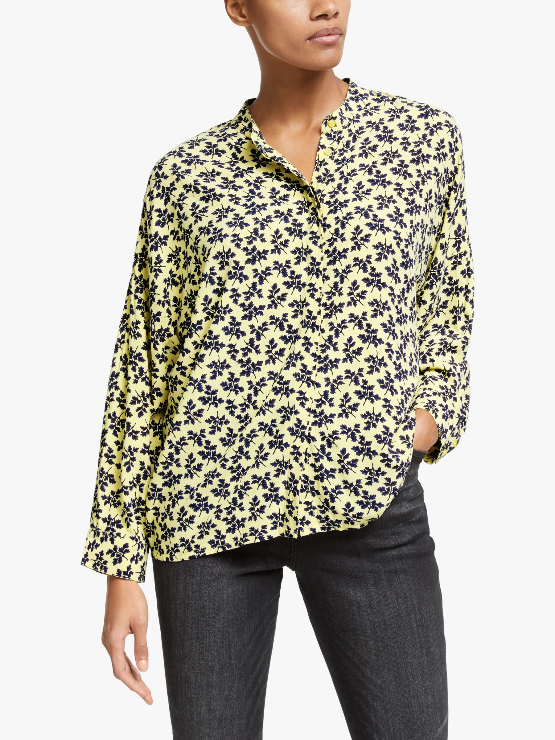 Y.a.s Y.A.S Lafera Printed Shirt, Yellow