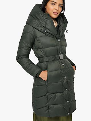 Monsoon Laurel Belted Padded Coat