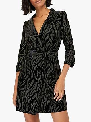 Monsoon Nadia Blazer Dress, Black