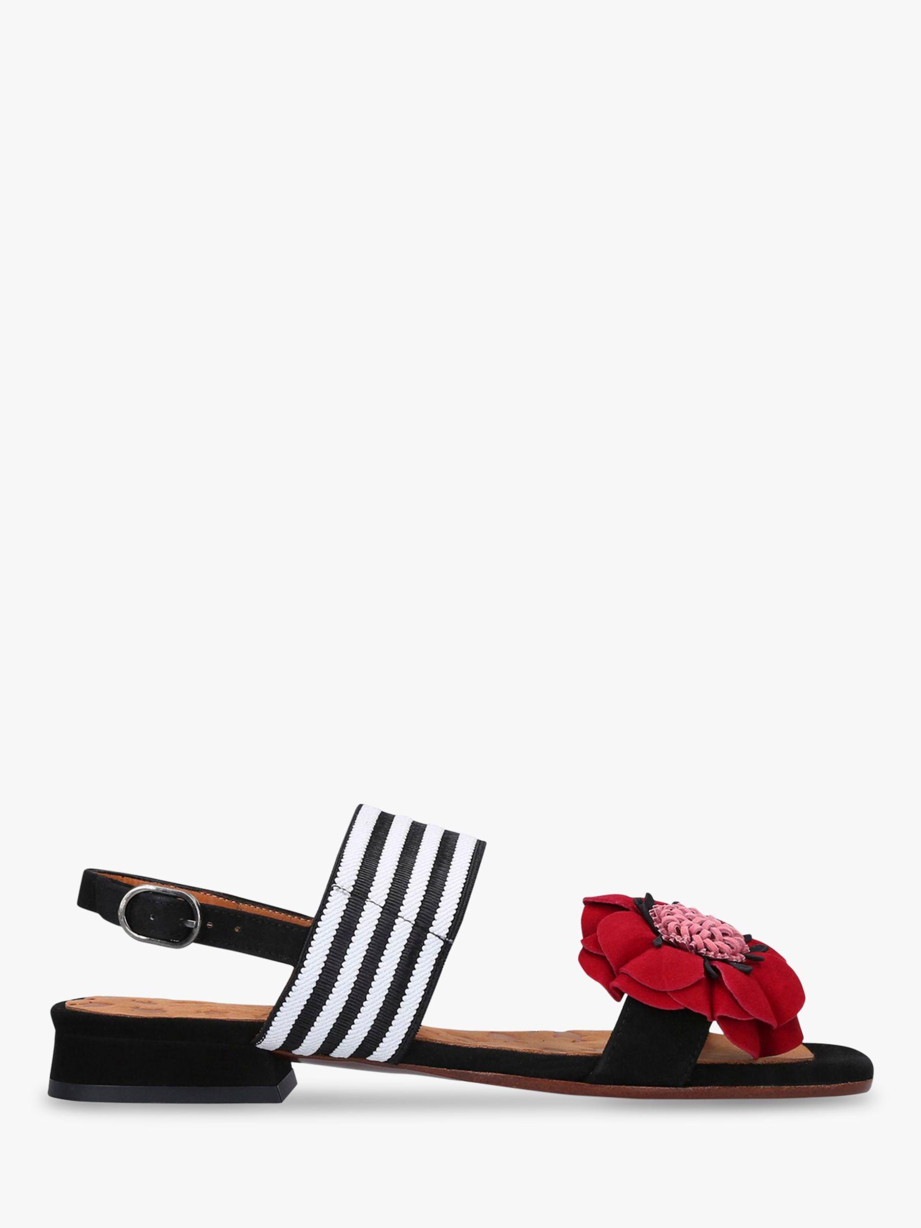 Chie Mihara Chie Mihara Tida Suede Flat Sandals, Black