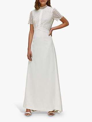 Whistles Scarlett Wedding Dress, Ivory